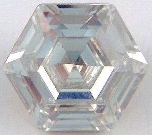 6mm (4730) Crystal Hexagon