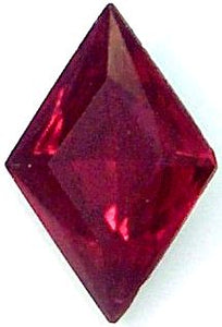15x10.5mm (4710) Ruby Diamond Shape
