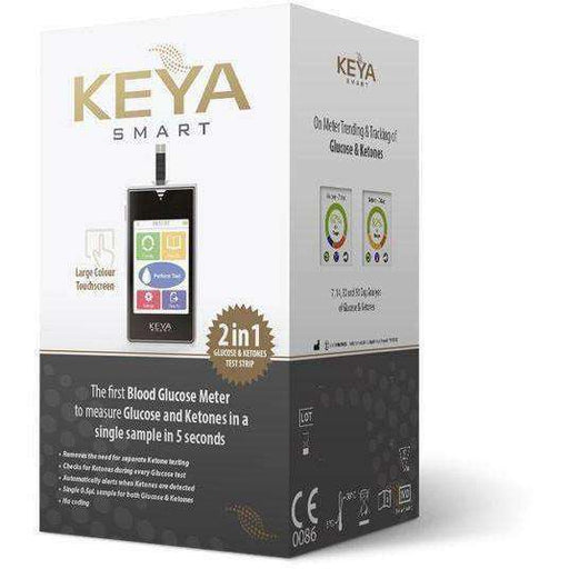 KEYA® Smart Combined Blood Glucose & Ketone Monitoring System