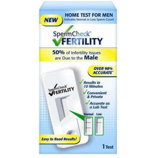 Wellnostics - Spermcheck Home Sperm Count Test Kit for Testing Male Fertility
