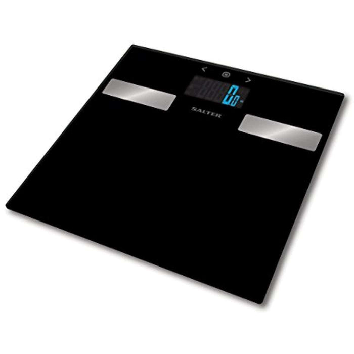 Wellnostics - Salter Glass Analyser Bathroom Scale - Black