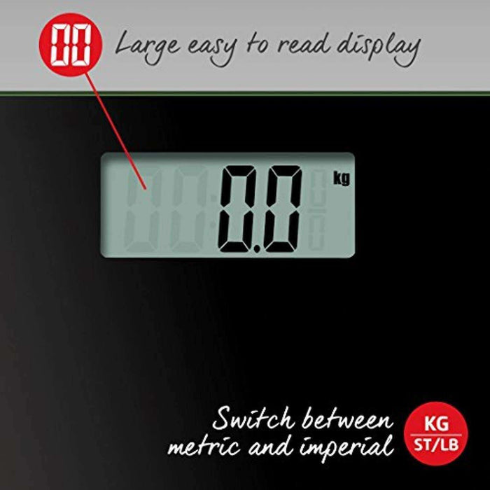 Wellnostics - Salter Ultra Slim Glass Electronic Digital Bathroom Scales - All Colours
