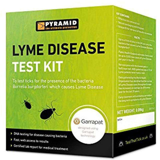 Wellnostics - Pyramid Travel LYME DISEASE TEST KIT for ticks on humans, dogs and other animals