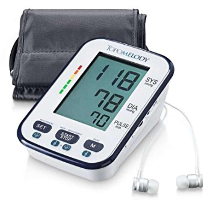 TopoMelody Blood pressure monitor with BP lowering sound-therapy system – (BPMT technology)