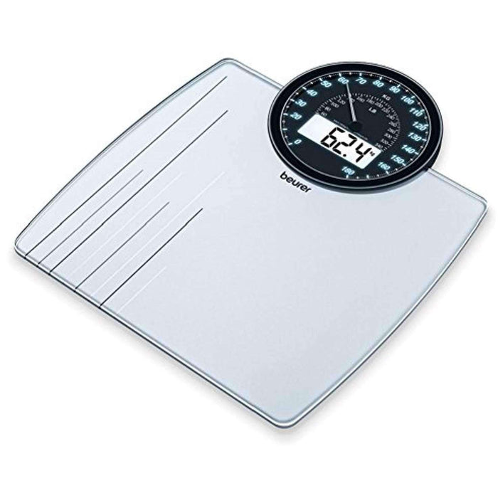 Wellnostics - Beurer GS58 Dual Display Glass Bathroom Scale