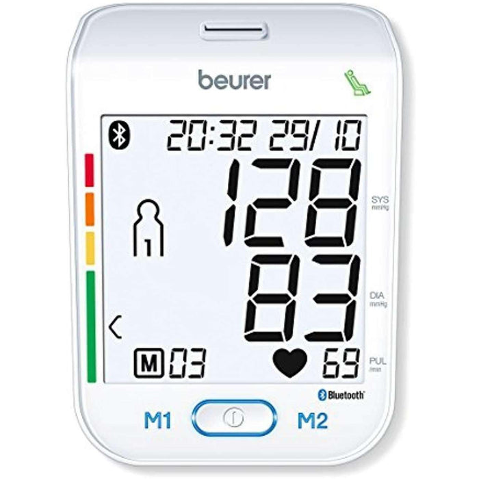Wellnostics - Beurer BM77 Bluetooth Upper Arm Blood Pressure Monitor with Health Manager App