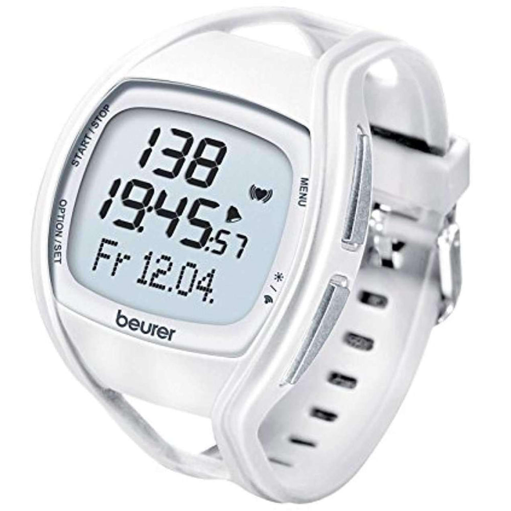 Wellnostics - Beurer PM45 Heart Rate Monitor - White/Blue