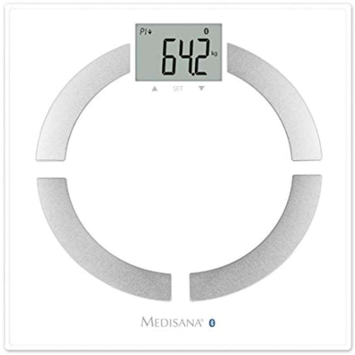 Wellnostics - Medisana Connect Bluetooth Body Analyser Bathroom Scales