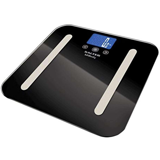 Wellnostics - Salter MiBody Bluetooth Digital Analyser Bathroom Scales Black