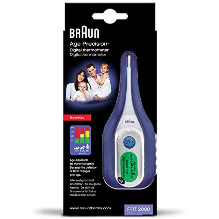 Wellnostics - Braun Digital Thermometer with Age Precision