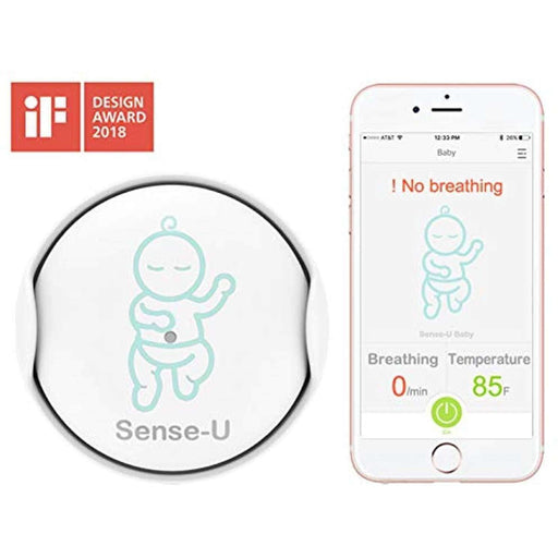 Wellnostics - Sense-U Baby Breathing & Rollover Movement Monitor