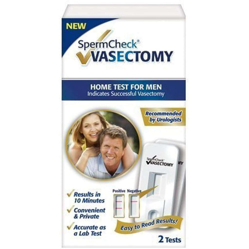 Wellnostics - Spermcheck Vasectomy Home Sperm Test Kit