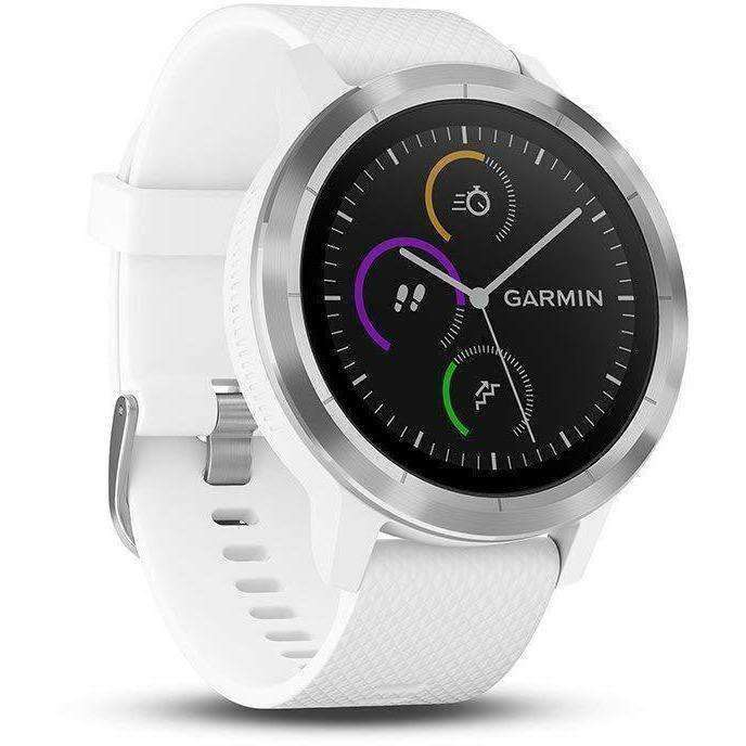 Wellnostics - Garmin vivoactive 3 Music - GPS Smartwatch with Music Storage and Playback - Black