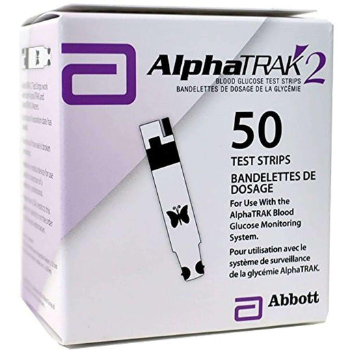 Wellnostics - AlphaTRAK 2 Blood Glucose Test Strips Pack of 50