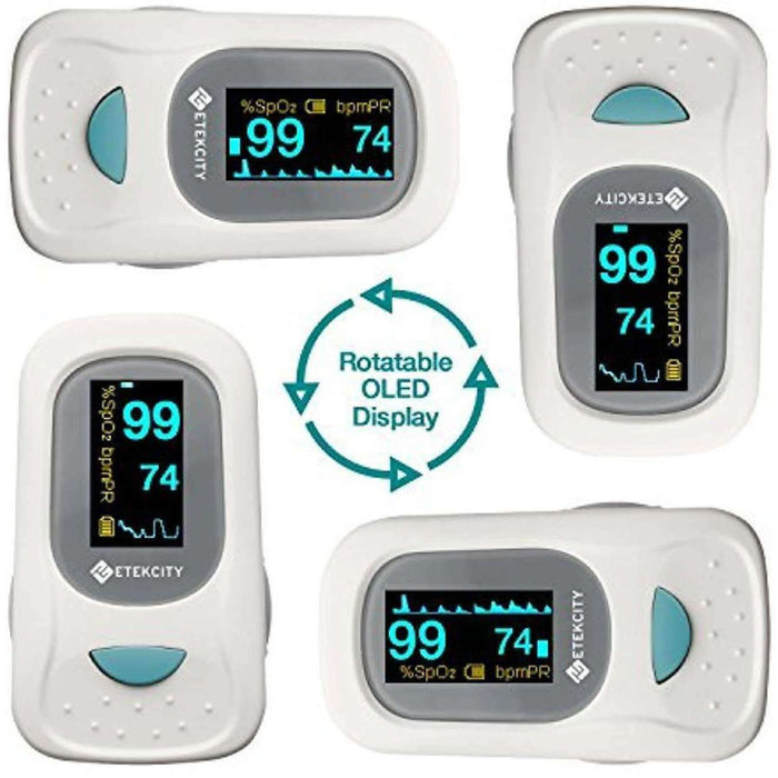 Wellnostics - Etekcity Finger Pulse Oximeter with OLED Display