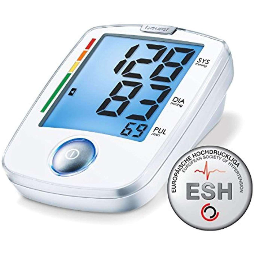 Wellnostics - Beurer BM44 Easy Use Upper Arm Blood Pressure Monitor