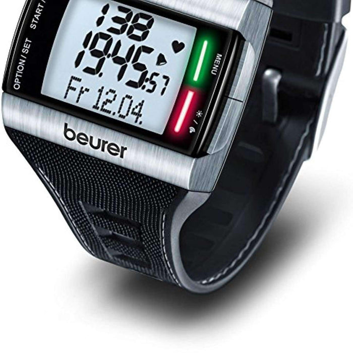 Wellnostics - Beurer PM62 Heart Rate Monitor - Black