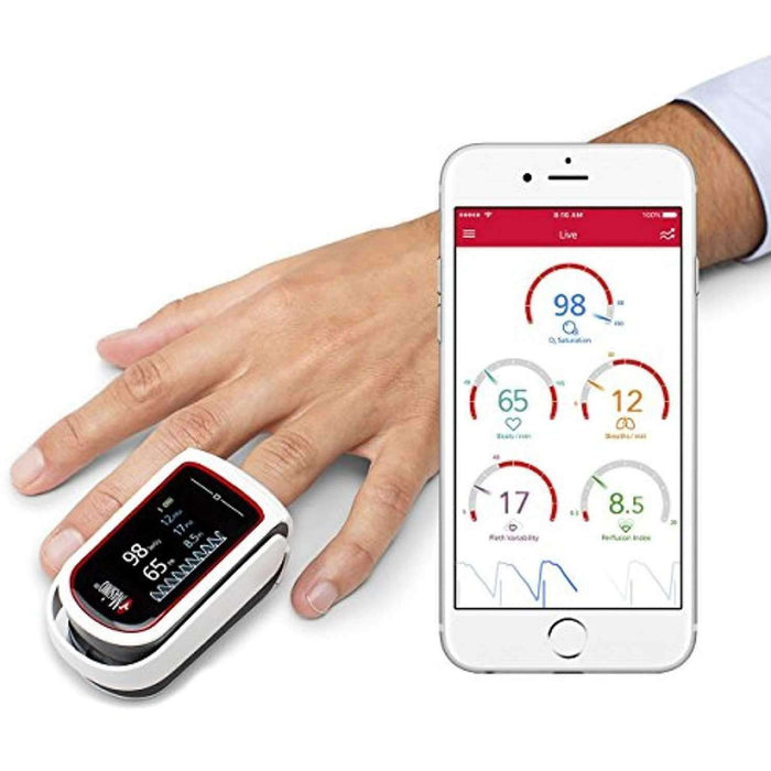 Wellnostics - MASIMO - MightySat Fingertip Pulse Oximeter