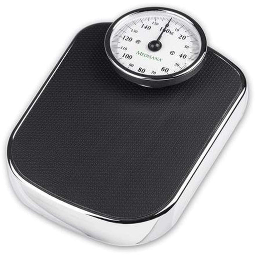 Wellnostics - Medisana Bathroom Scales Mechanical Retro Design Black