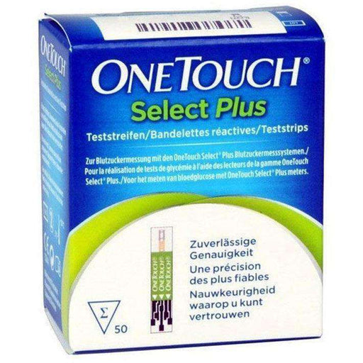 One Touch Select Plus Test Strips Pack of 50