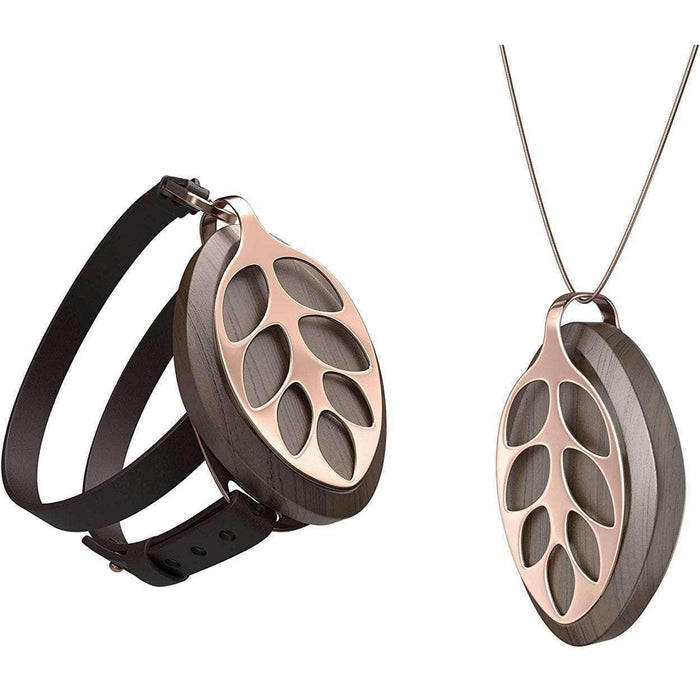 Wellnostics - Bellabeat Leaf Nature Rose Gold Activity Tracker