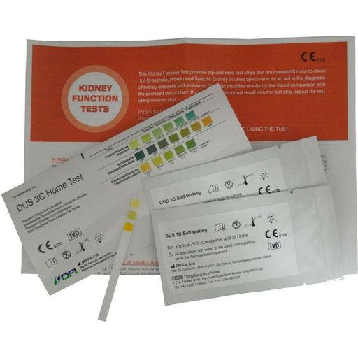 Wellnostics - DFI Kidney Renal Function Urine Tests - Pack of 2