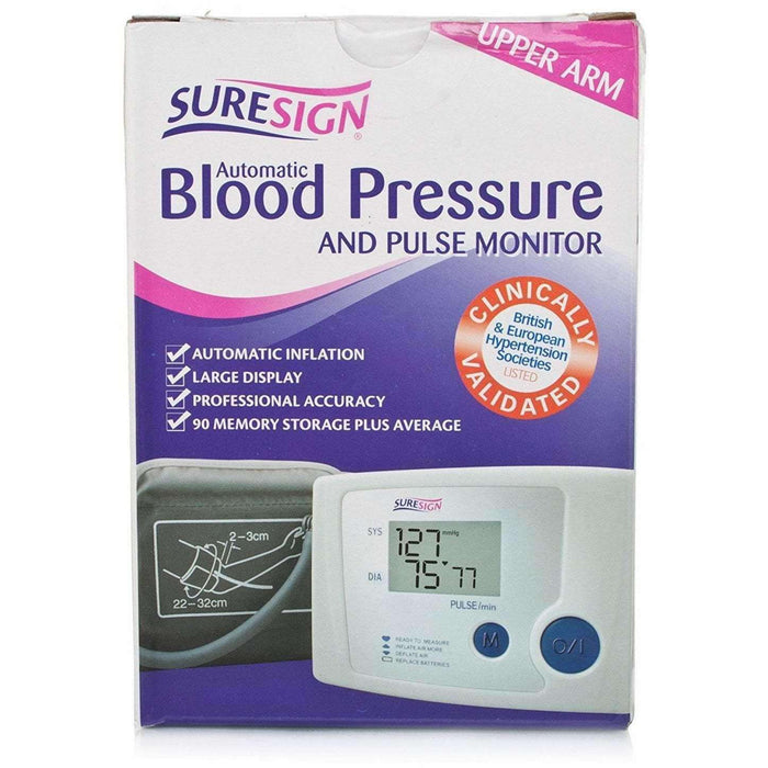 Wellnostics - Suresign Automatic Blood Pressure and Pulse Monitor