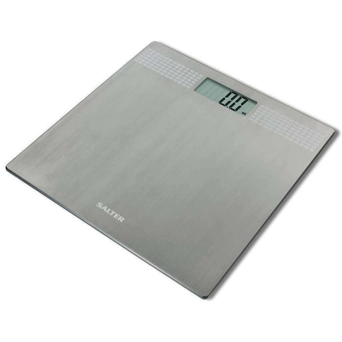 Wellnostics - Salter Silver Glitter Electronic Digital Bathroom Scales
