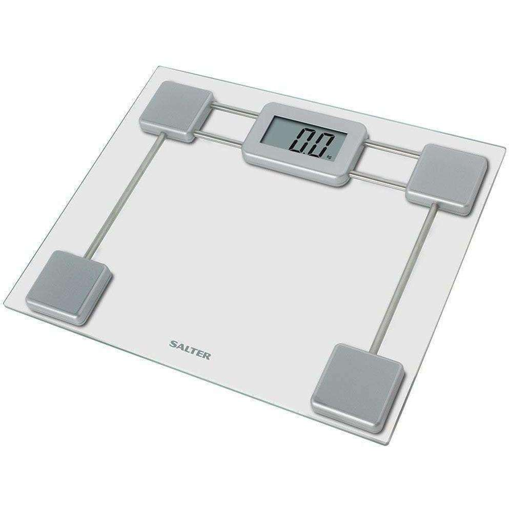 Wellnostics - Salter Compact Glass Electronic Digital Bathroom Scales