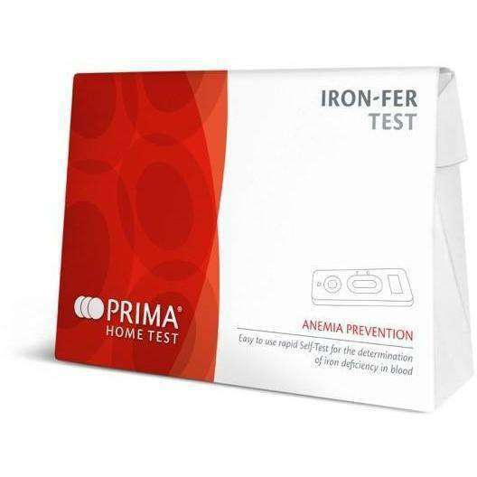 Wellnostics - Prima Anaemia Iron Deficiency FER Test