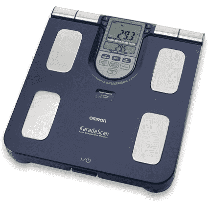 Omron Family Body Composition Monitor Blue BF511