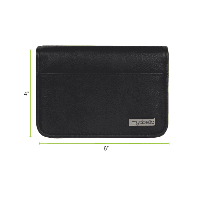 Wellnostics - Myabetic Clemens Diabetes Wallet Black