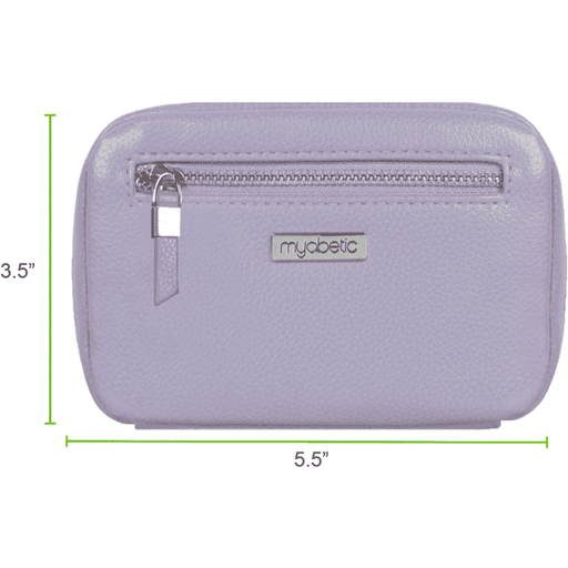 Wellnostics - Myabetic James Diabetes Compact Case Lavender
