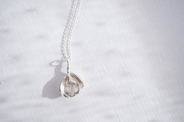 Succulent leaves in Sterling Silver