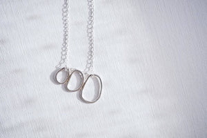Three Sisters Pendant in Sterling Silver