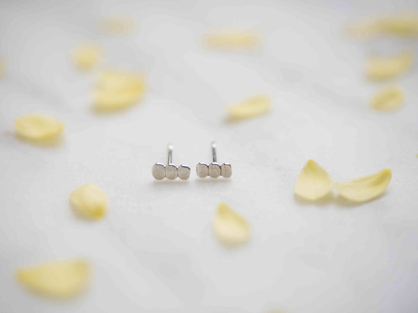 Pebble Stack Studs