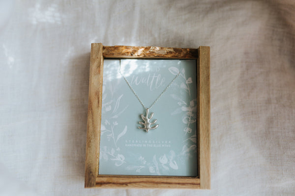 Wollemi Pine in Sterling Silver
