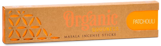 Organic Patchouli Incense Sage