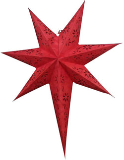 Large Red Paper Star Lanterns