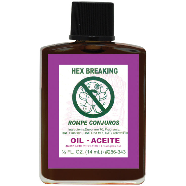 Hex breaking oil