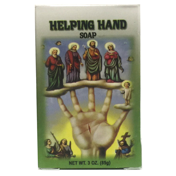 Helping hand soap