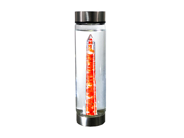 Courage Glass Crystal Bottle
