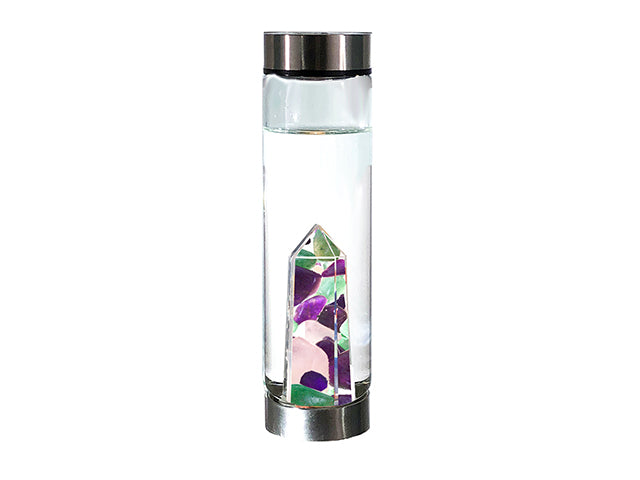 Glow Glass Crystal Bottle