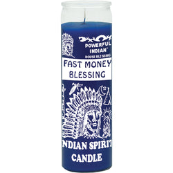 Fast Money Blessing Candle