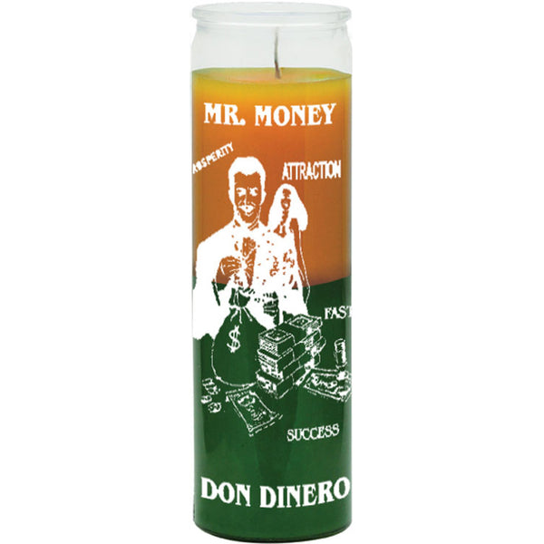 Mr Money Candle