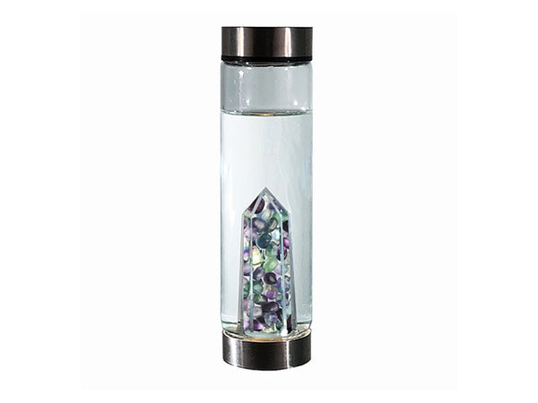 Positive Glass Crystal Bottle