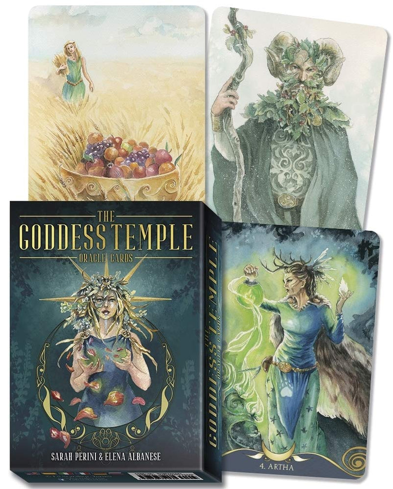 Goddess Temple Oracle Cards