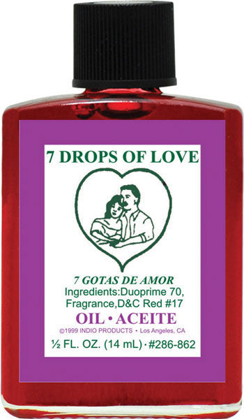 7 Drops Of Love Oil