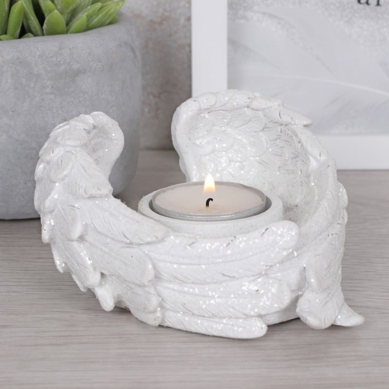 Angel Winged Candle Holder