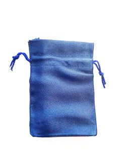 Dark Blue Crystal Pouch - Small